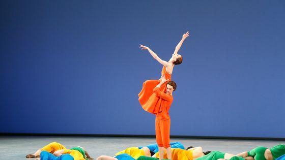 Aurélie Dupont sur la scène de l'Opéra Bastille