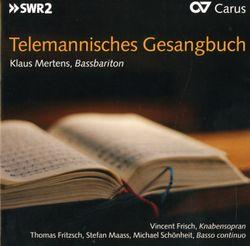 Fast allgemeines Evangelisch-Musicalisches Lieder-Buch TVWV 10 : 1 : Wer weiss wie nahe mir mein Ende - KLAUS MERTENS