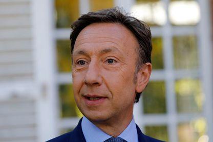 Stéphane Bern à Thomery en septembre 2019 pour les Journées du Patrimoine