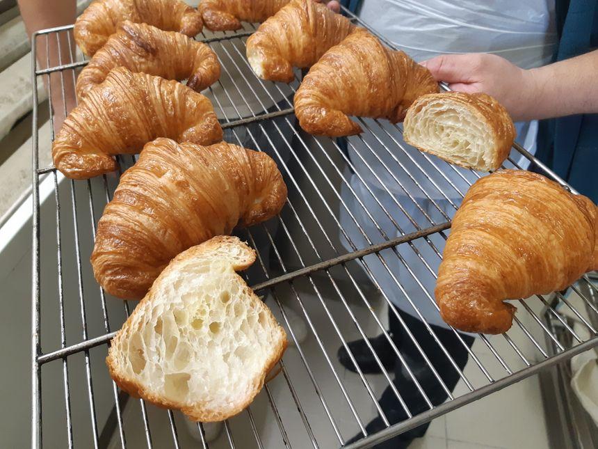 Même l'aspect visuel sera jugé pour ce premier Concours national du meilleur croissant au beurre