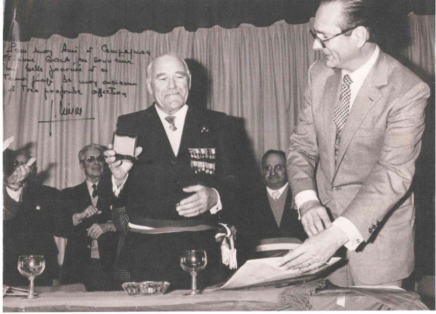 Jacques Chirac était proche d'Etienne Gola, ancien maire du Rayol, qu'il a connu pendant l'enfance