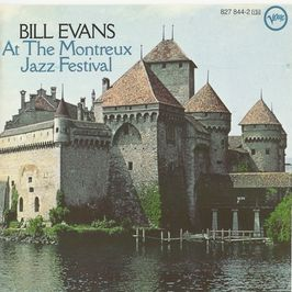 "Pochette de l'album ""At the Montreux jazz festival"" par Bill Evans"