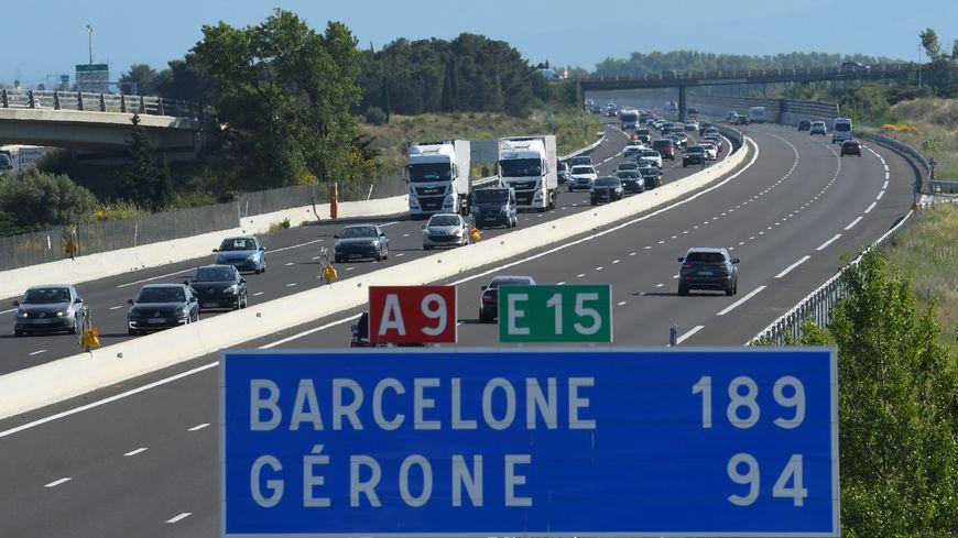 La circulation a repris ce samedi à la mi journée  sur l'autoroute, à la frontière franco-espagnole