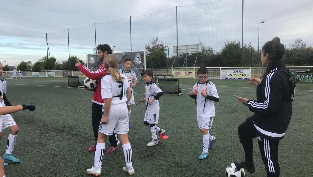 VIDÉOS - Des jeunes Bretons en stage avec le Real Madrid à Milizac