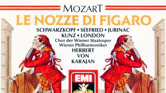 Mozart, Les Noces de Figaro, Schwarzkopf, Seefried, Jurinac, Herbert von Karajan