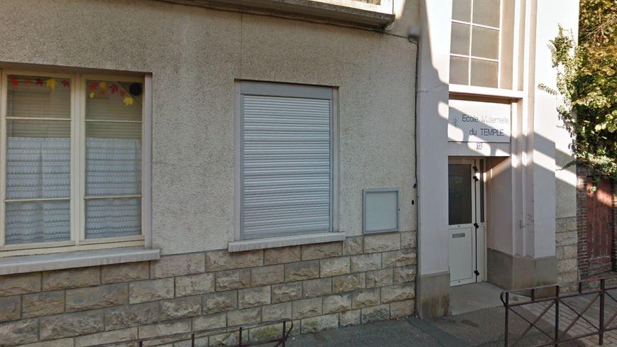 L'ancienne école maternelle du Temple est rue Marcellin Berthelot