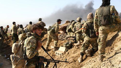 Les forces turques pilonnent  Ras Al-Aïn