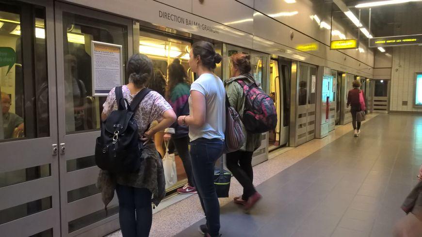 Ligne A du métro à Toulouse (photo d'illustration)
