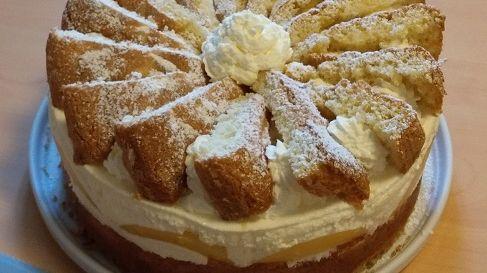 Le gâteau Käsesahnetorte d'Iris Lorentz
