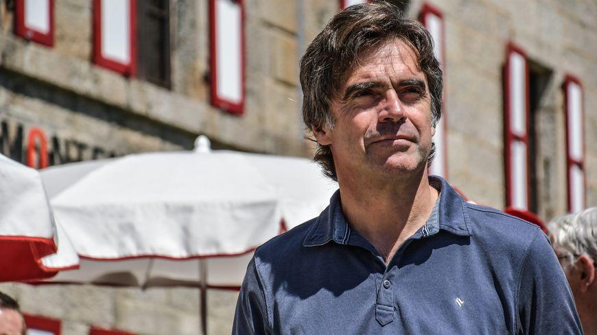 Eric Fournier, maire de Chamonix, Haute-Savoie