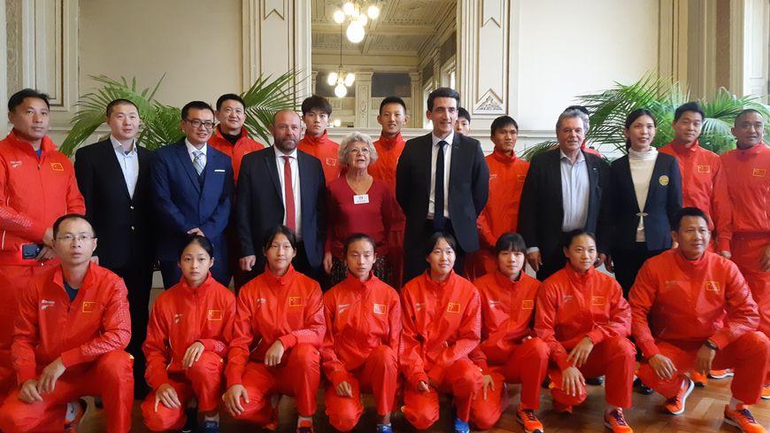 Ces jeunes athlètes chinois visent une participation aux JO 2024 ou 2028