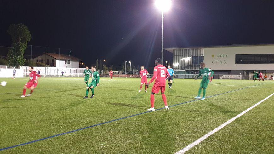 À domicile, les Genêts se sont inclinés 2-1 face à l'équipe de Chauray
