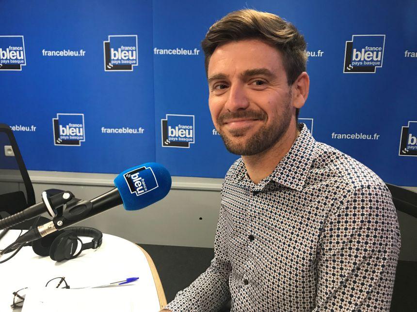 Guillaume Laval, directeur des services mobilités au Syndicat des Mobilités de l'agglo Pays Basque