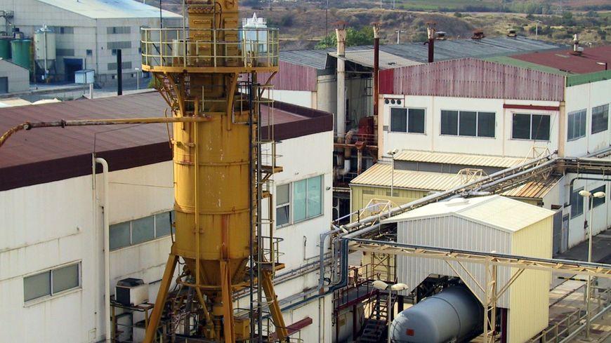 L'usine de Malvési à Narbonne