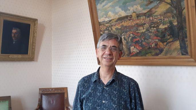Serge Roques, le maire de Villefranche-de-Rouergue