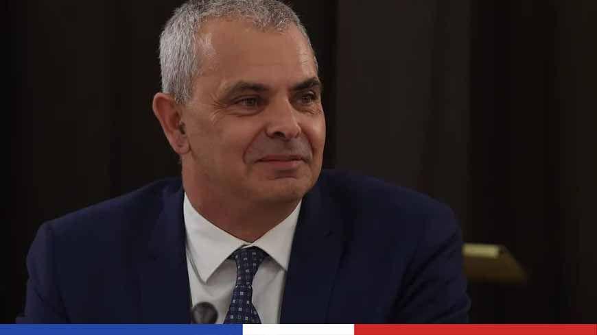 Christophe Bouchet est bien candidat à sa propre succession à la mairie de Tours.