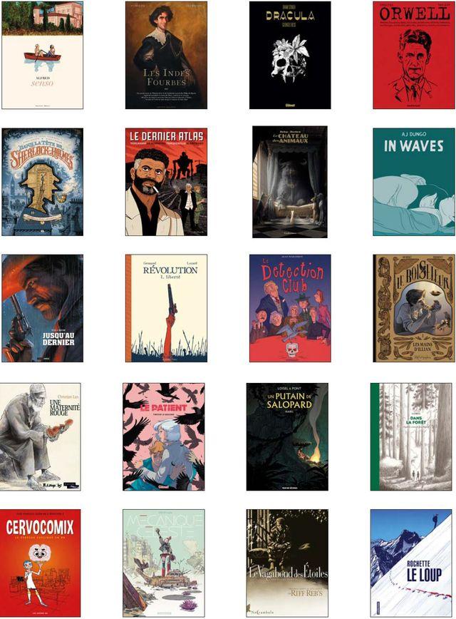 Prix BD fnac france inter - sélection BD