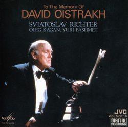 Sonate en Fa Maj op 11 n°4 : Fantaisie - pour alto et piano - SVIATOSLAV RICHTER