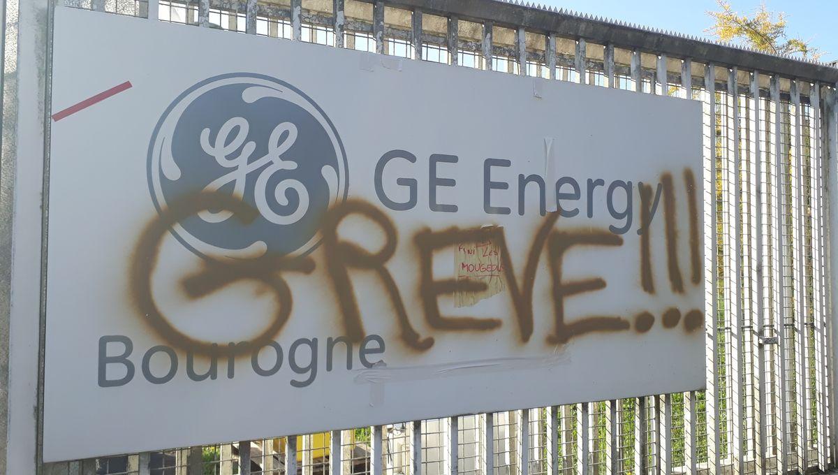 General Electric à Bourogne : le soutien des habitants aux grévistes