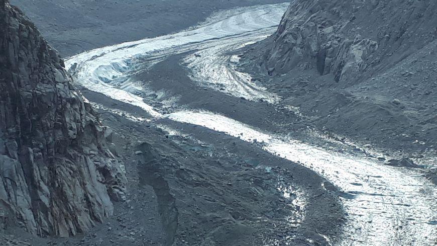 La Mer de glace a reculé de 800 m en 30 ans