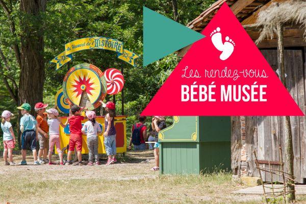 Les rendez-vous Bébé musée à l'écomusée de Marquèze