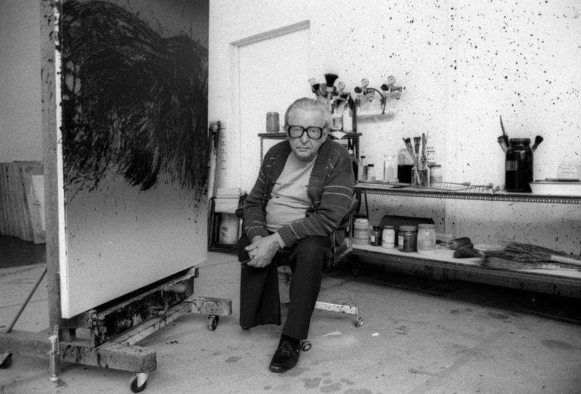 """Hans Hartung : """"Je déguste la nature et la vie comme chacun, ça n ..."""