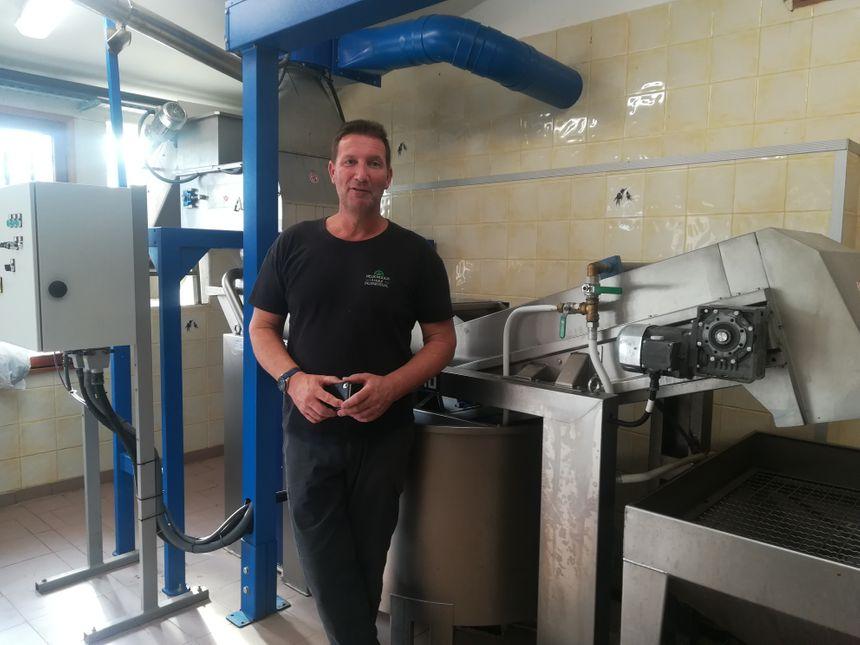 Guillaume Kaufmann, propriétaire et moulinier du Moulin du Partégal de La Farlède