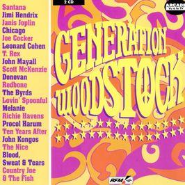 """Pochette de l'album """"Génération Woodstock"""" par John Kongos"""