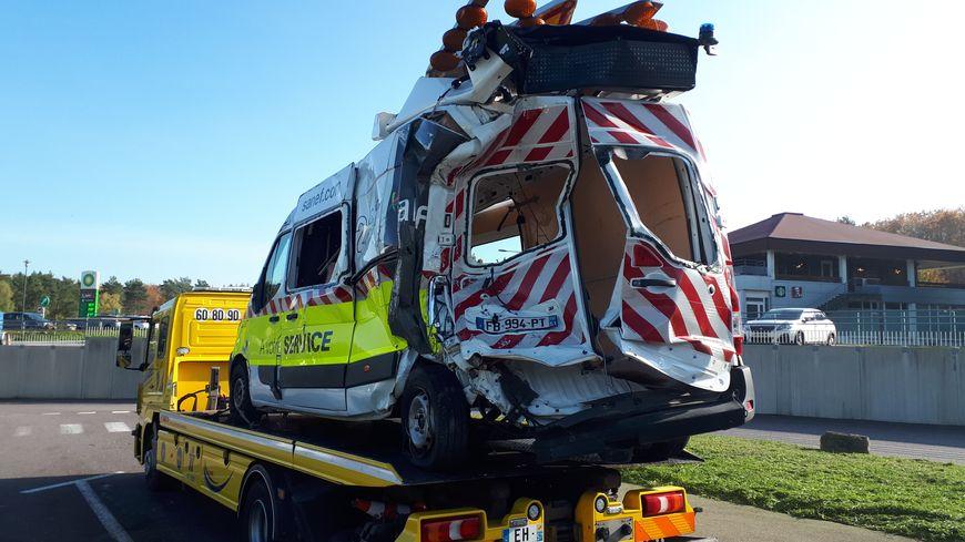 Un patrouilleur de la SANEF heurté par un poids lourd sur une zone de chantier en juin 2019 en Moselle