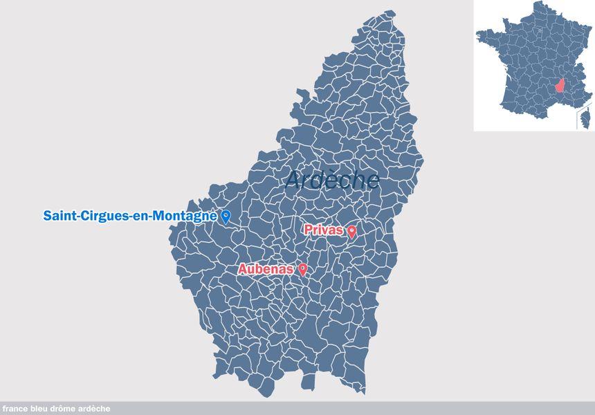 Saint-Cirgues-en-Montagne, en Ardèche