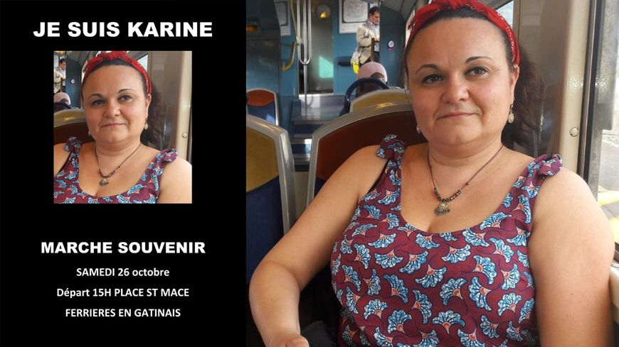 L'affiche réalisée et diffusée par des proches de Karine Foucher