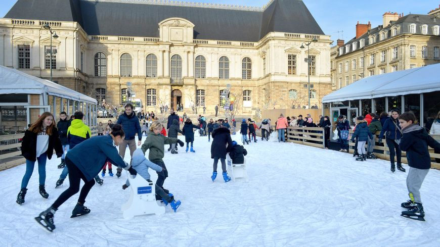 A Rennes la patinoire ne reviendra pas place du Parlement.