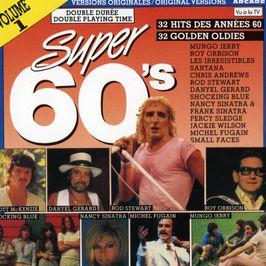 """Pochette de l'album """"Super 60's"""" par The Box Tops"""
