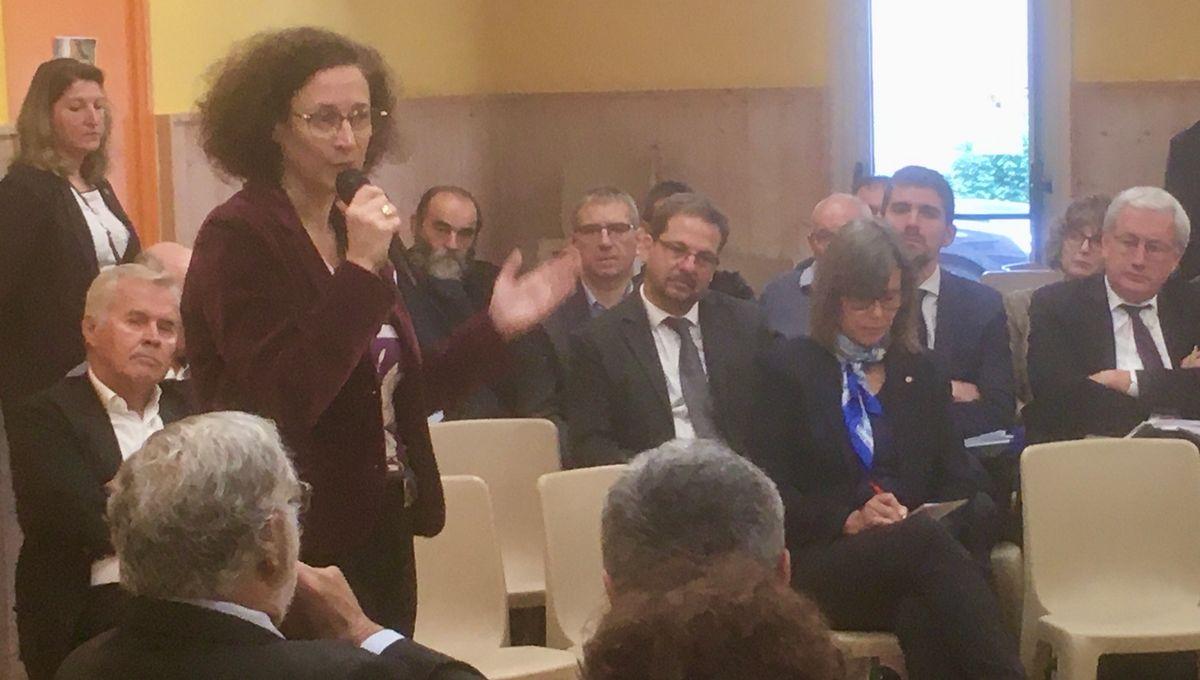 Pour Emmanuelle Wargon il n'est pas question d'exclure la construction d'éoliennes