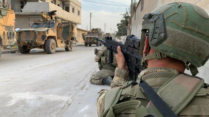 L'armée turque mène une offensive en Syrie depuis le 9 octobre 2019.