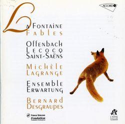 La cigale et la fourmi pour soprano et ensemble instrumental - MICHELE LAGRANGE