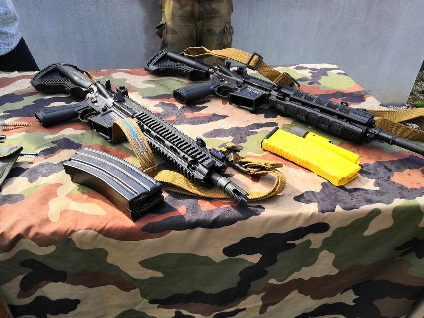 Le 13ème bataillon de chasseurs alpins de Barby-Chambéry est l'une des premières unités de l'armée française à recevoir les fusils d'assaut HK-416F 860_71336892_623383241523665_6625007657038118912_n