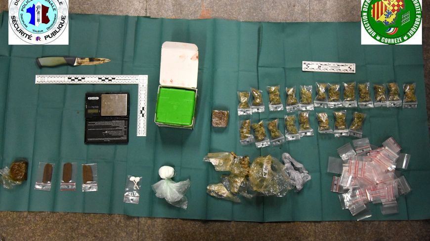 Le butin retrouvé par la police de Brive lors de perquisitions au domicile de 3 brivistes