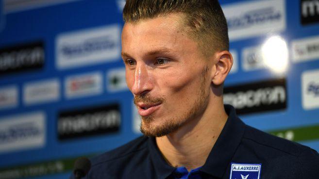 Mathieu Michel, le gardien de l'AJA.
