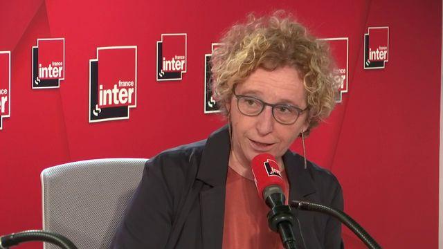 Muriel Pénicaud le 22 octobre 2019 dans les studios de France Inter