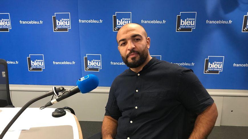 Le président de l'Association des musulmans de la Côte Basque, Abdellatif Boutaty