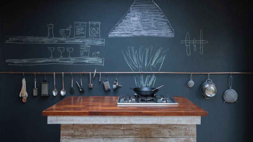 La déco en cuisine - Illustration