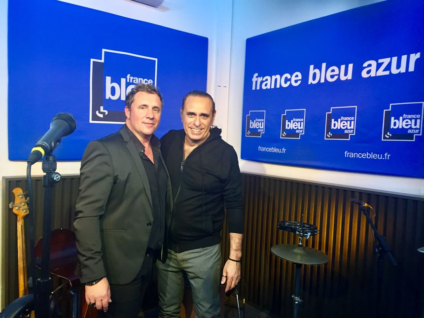 Christophe Davy et Adrien Mangano