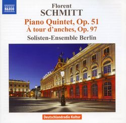 Quintette en si min op 51: Lent - Pour quatuor à cordes et piano - ENSEMBLE DE SOLISTES DE BERLIN