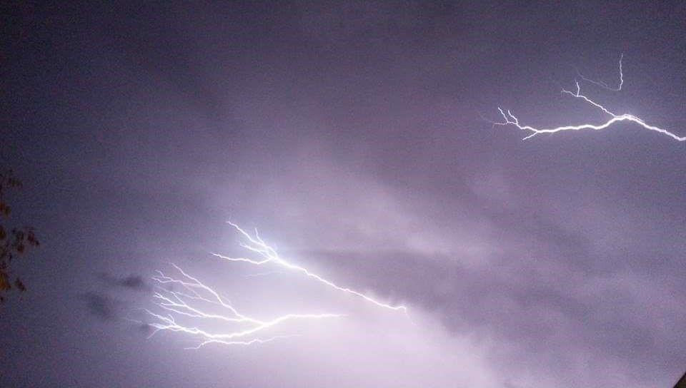 Déluge et foudre : la Drôme et l'Ardèche sous les orages