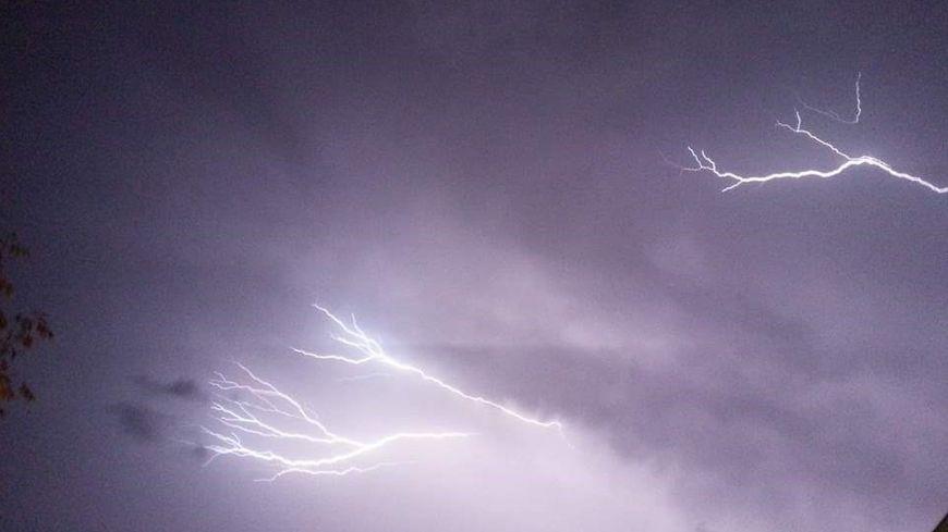 Les orages en Ardèche