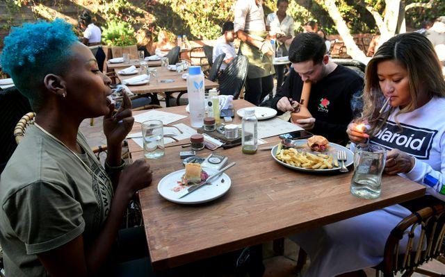 Au Café Lowell Cafe à Hollywood