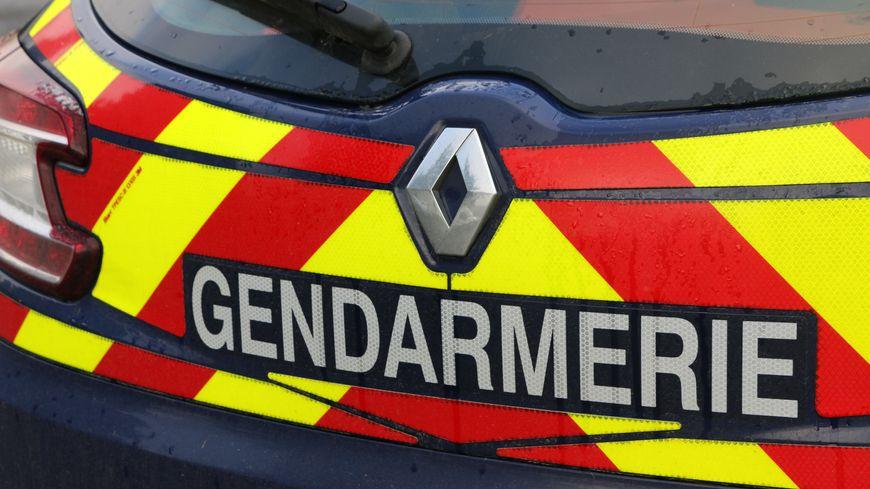 Véhicule de gendarmerie.