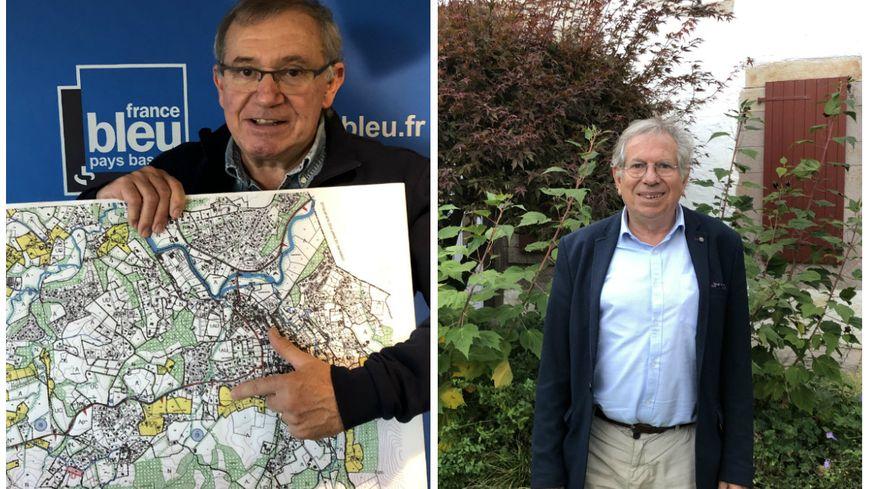 Une association dénonce une opacité de la mairie de le dossier du PLU d'Ascain, ce que dément le maire Jean Louis Fournier (à droite)