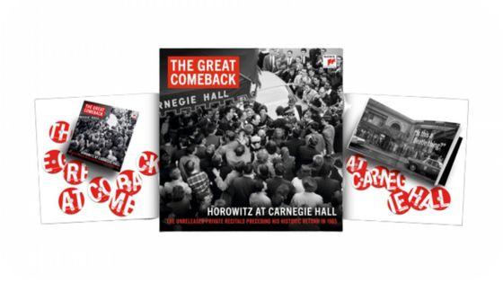 Vladimir Horowitz The Great Comeback - Horowitz at Carnegie Hall